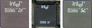 Intel 80386 (386DX, 386SX, 386SL)